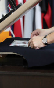 woman photocopying