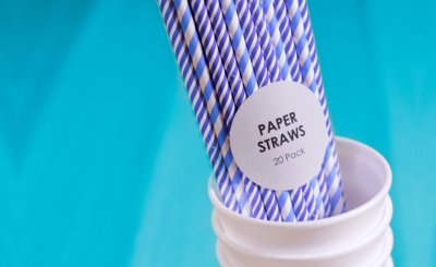 Paper straws environment friendly